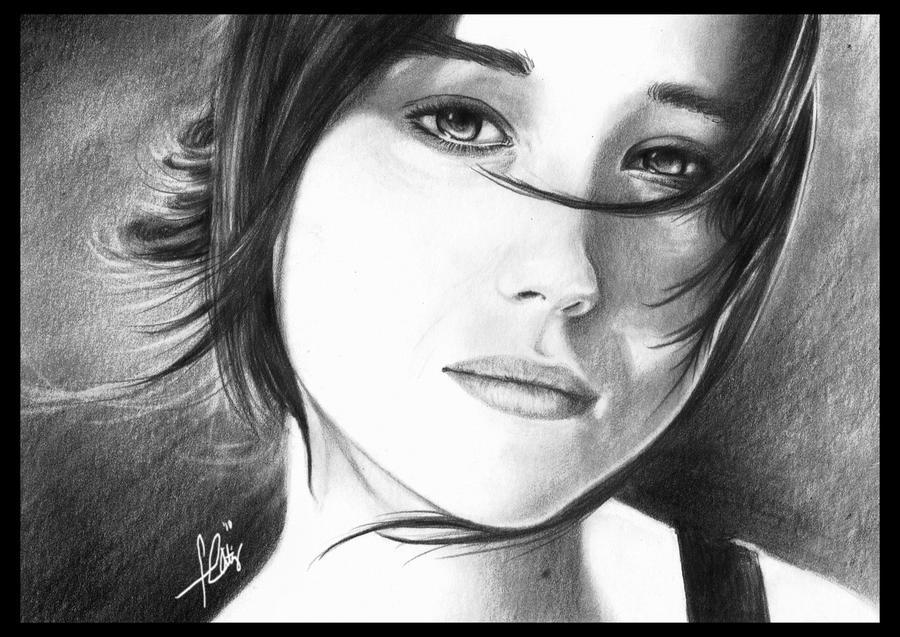 Ellen Page by efcee