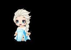 Fantage: Elsa from Frozen (Theme of the week 12) by Brinjsana