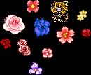 Fantage Flowers by Brinjsana