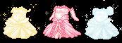 Fantage: Princess Ball Gowns by Brinjsana