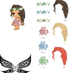 Forrest Fairy Edit Pack