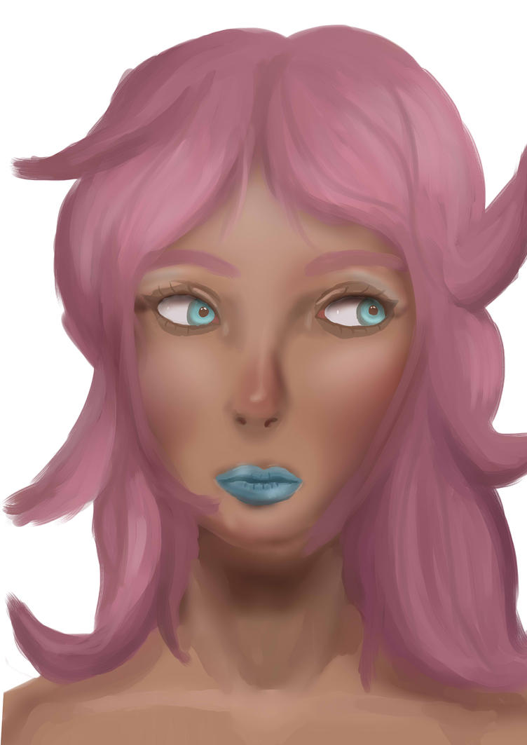 Painting Practice: Princess Maple by wolfishgod
