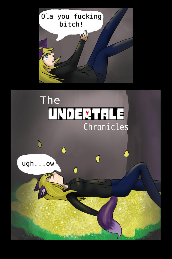 The Undertale Chronicles Cover by wolfishgod