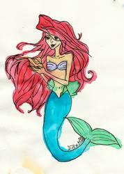 Ariel by EllaMinnoP