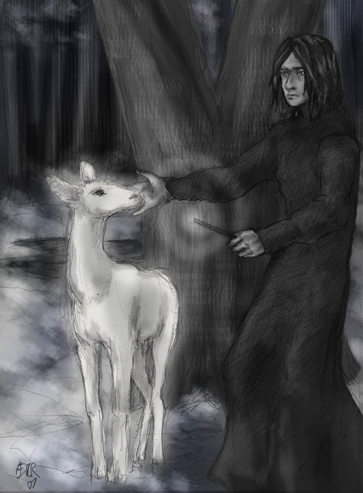 Severus Snape -spoilers- by aecr