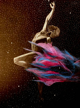 Dancer in the void