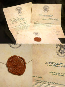 Harry Potter Acceptance Letter - Italian Version