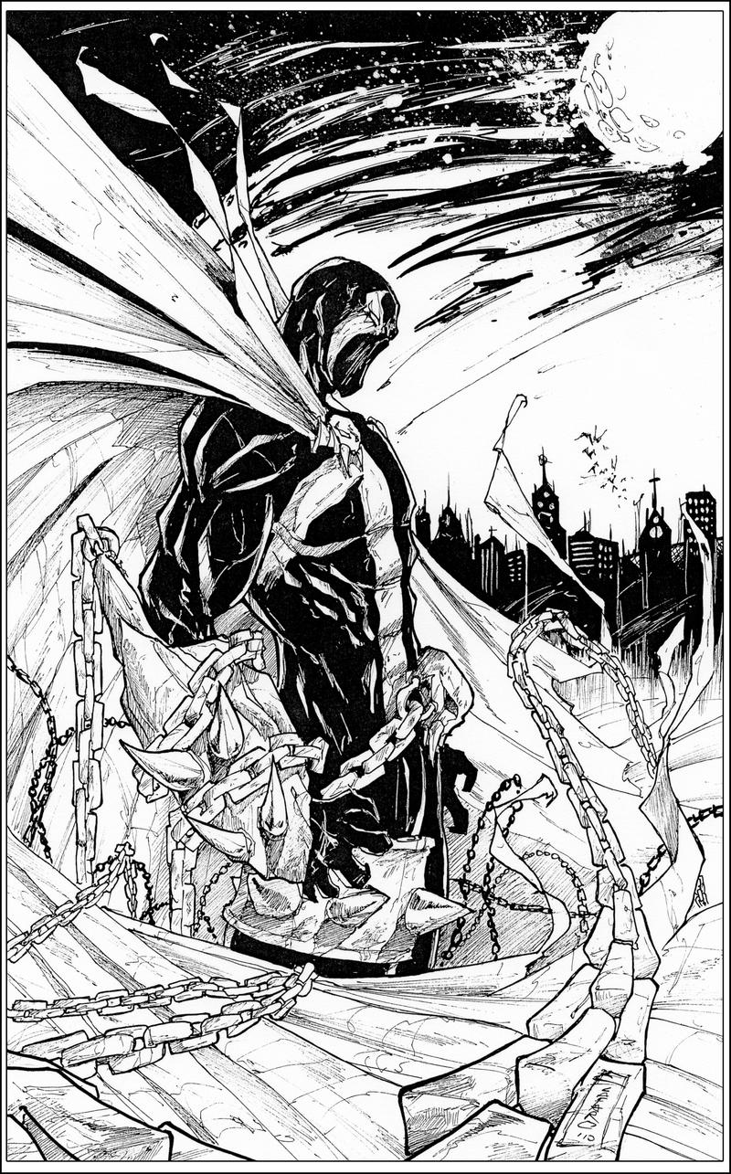 spawn ink by giuseppe cafaro on deviantart