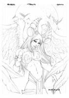The Angelus Tribute by Giuseppe-Cafaro