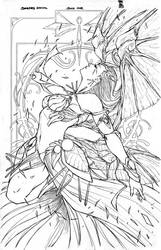 All New Soulfire #6 - SDCC 2014 Exclusive by Giuseppe-Cafaro