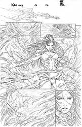 Fathom: Kiani vol 3 #3 pg13 - Pencil