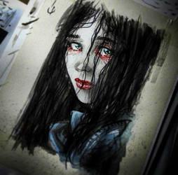 Alessa Gillespie - Silent Hill by Giuseppe-Cafaro