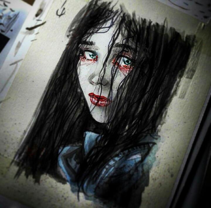 Alessa Gillespie Silent Hill By Giuseppe Cafaro On Deviantart