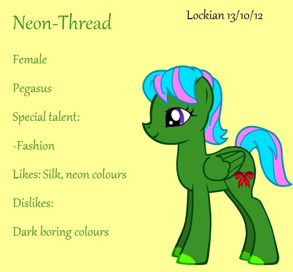 Neon-Thread Referance by Lockian
