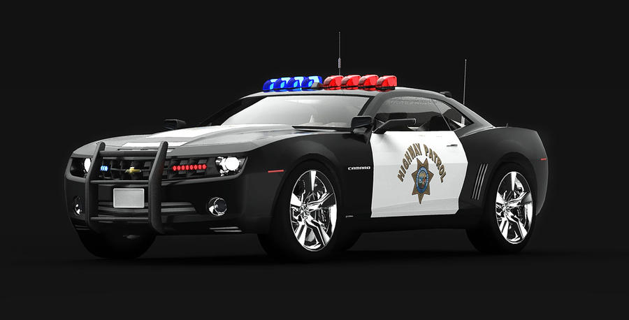 Chevrolet Camaro Police Car By Theimnobody On Deviantart