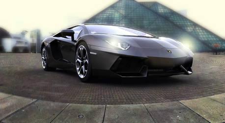 Lamborghini Aventador LP700-4 by TheImNobody