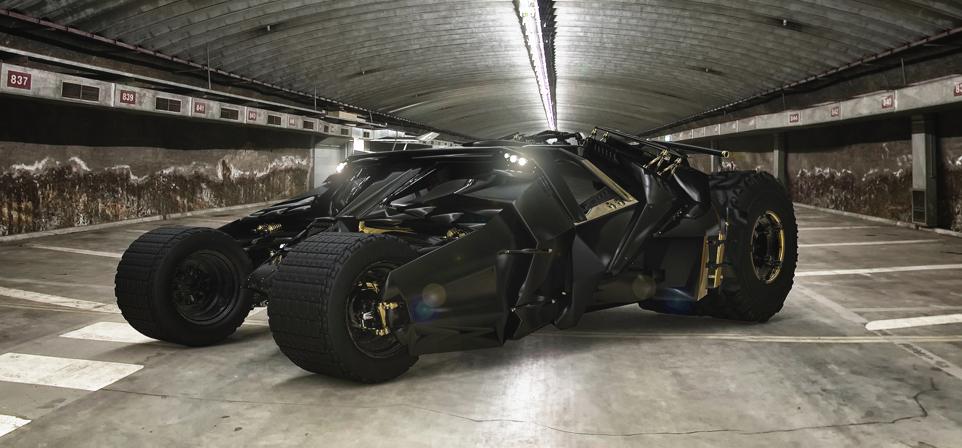 New Batmobile 'The Tumbler' by TheImNobody