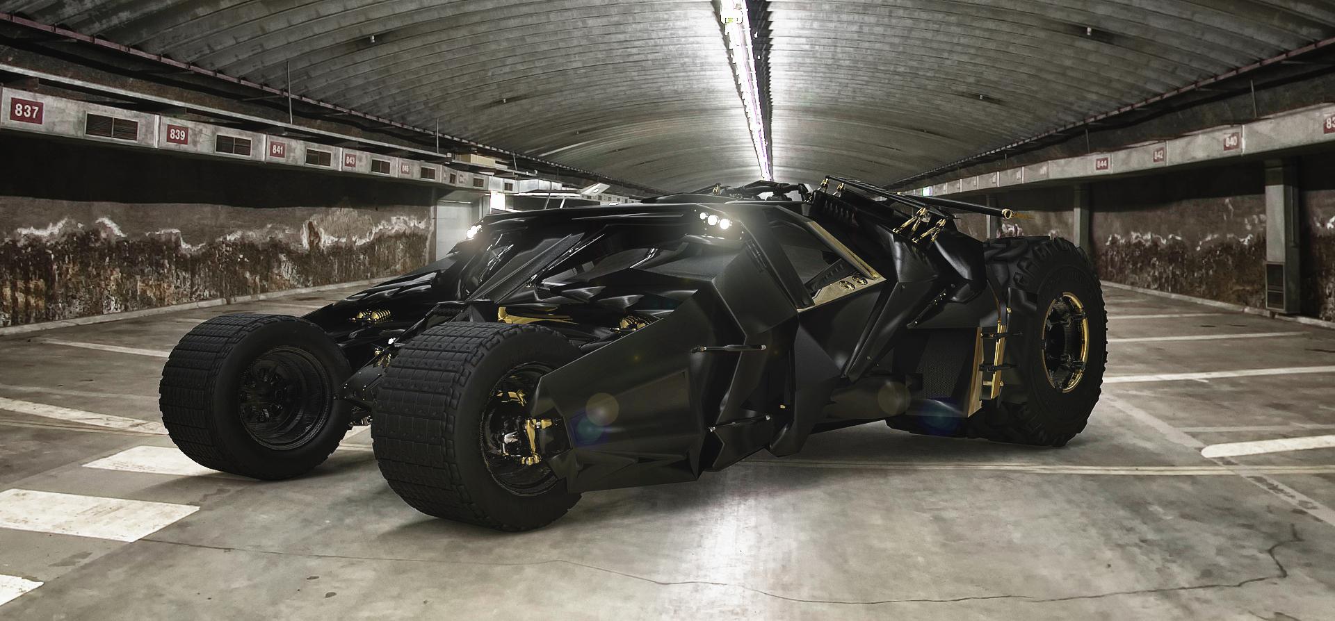 New Batmobile 'The Tumbler' by TheImNobody