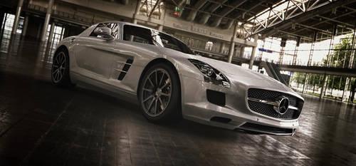 Mercedes-Benz SLS AMG by TheImNobody