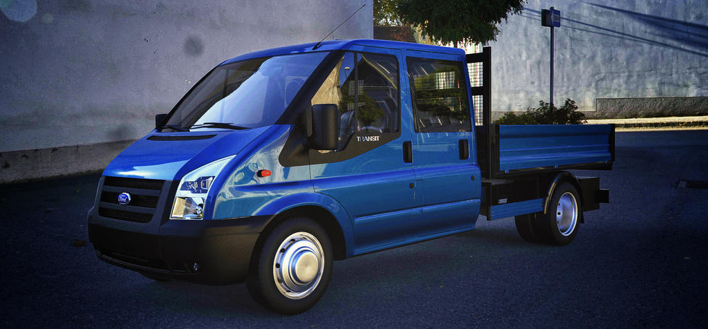 Ford Transit Double Cabine by TheImNobody