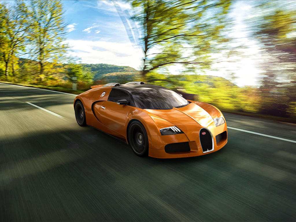 Bugatti Veyron Grand Sport by TheImNobody