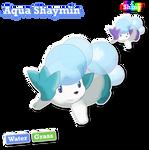 Land Aqua shaymin