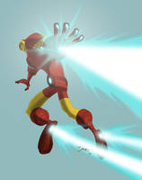 Iron Man Color by Waltdog