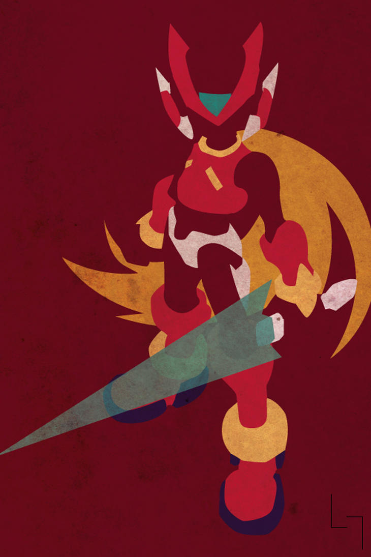 megaman zero by jehuty23 on deviantart