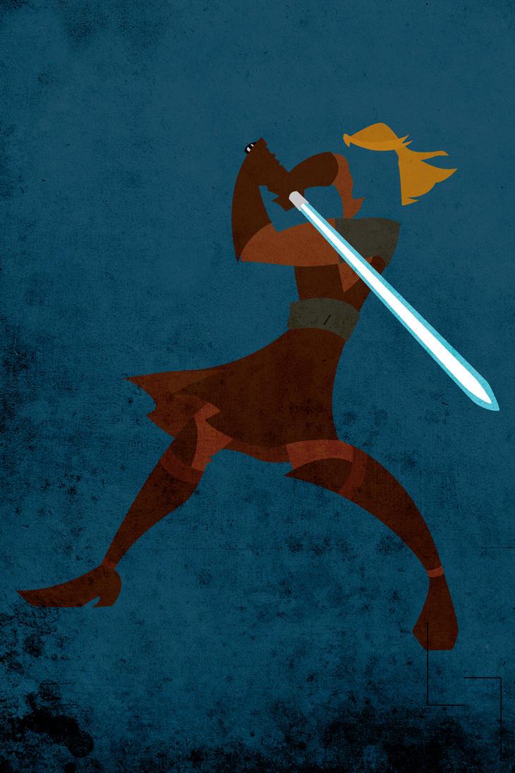 Anakin(Knight) by Jehuty23