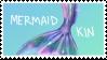 Mermaid Kin Stamp