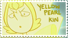 Yellow Pearl Kin Stamp by Gay-Mage-Of-Space
