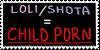 Shotacon/Lolicon = Pedophilia