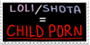 Shotacon/Lolicon = Pedophilia by Gay-Mage-Of-Space