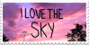 I Love The Sky Stamp by Gay-Mage-Of-Space