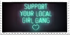 Local Girl Gang Stamp by Gay-Mage-Of-Space