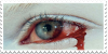 Bloody Eye Stamp by Gay-Mage-Of-Space