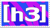 H3H3 Stamp by Gay-Mage-Of-Space