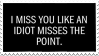 I Miss You Stamp by Gay-Mage-Of-Space