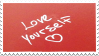 Love Yourself Stamp by Gay-Mage-Of-Space