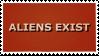 Aliens Exist Stamp