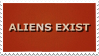 Aliens Exist Stamp by Gay-Mage-Of-Space