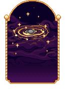 Pixel - Golden Galaxy BG by firstfear