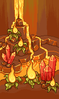 Pixel - Magma Cavern BG by firstfear