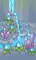 Pixel - Water Cavern BG by firstfear