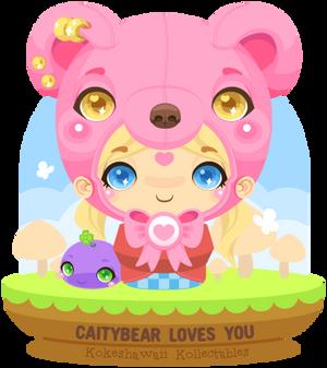 Vector - CaityBear Kokeshi