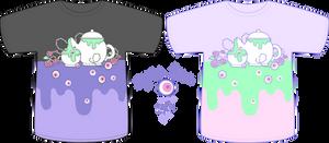 Vector - EyesTea Shirt Concept