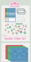 Stamp - Winter Holiday Kit