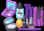 Vector - Halloween Makeup Clipart