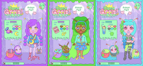 Adopt - Slyme Grrls Batch 2 : Open