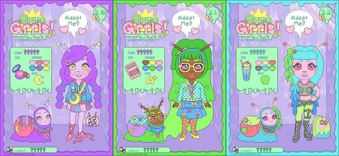 Adopt - Slyme Grrls Batch 2 : Open